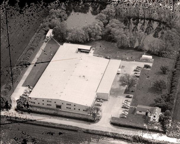 Vintage Aerial Shot