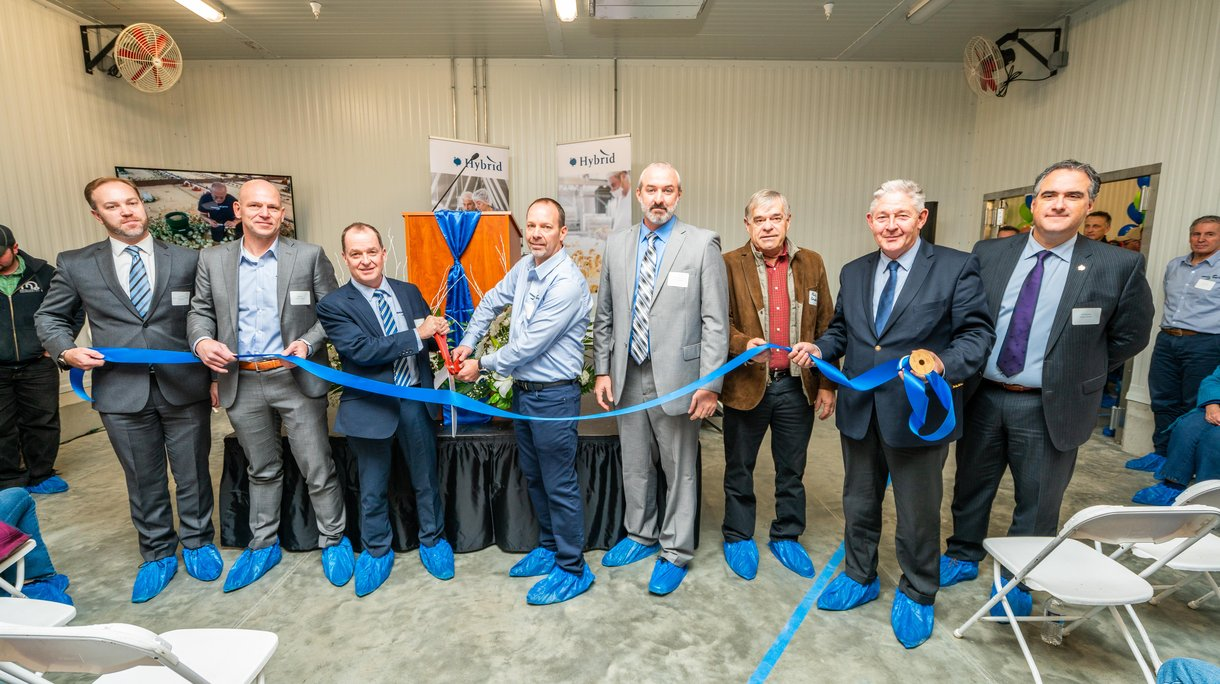 Ribbon cutting Beresford hatchery