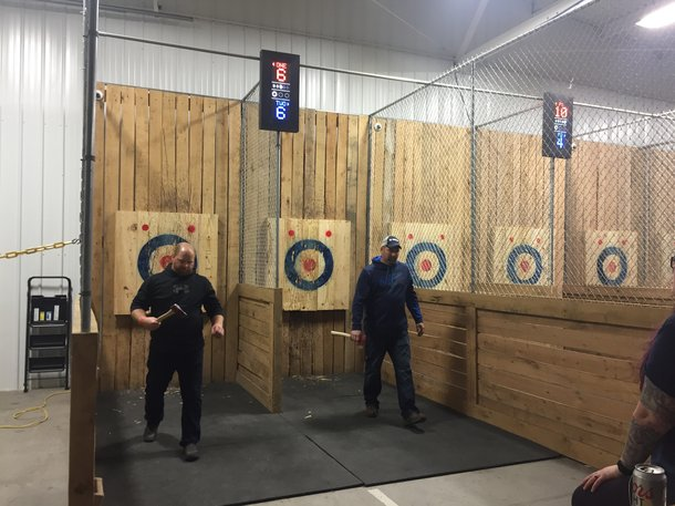 axe throwing YGC