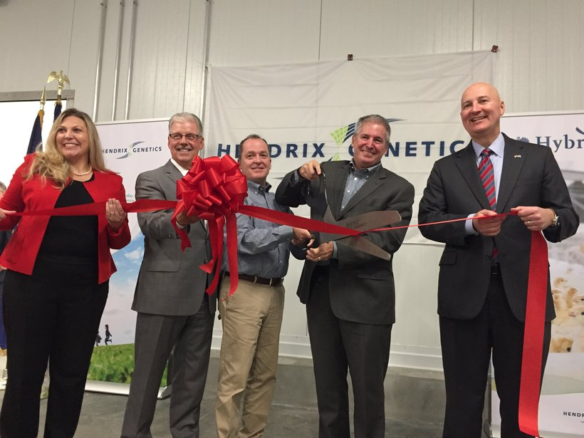 Beatrice Ribbon Cutting