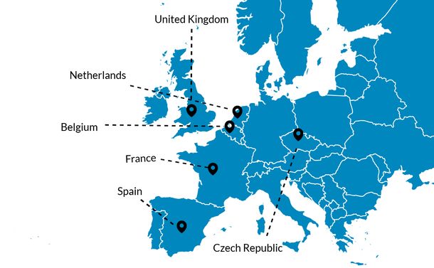 isa export location map