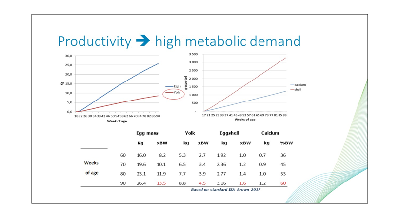 metabolic demand graphs