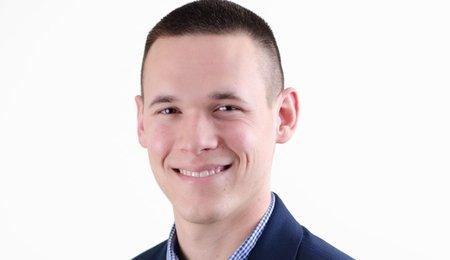 Hypor employee Ethan Parsley