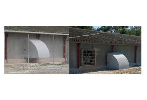 Ventilation light covers