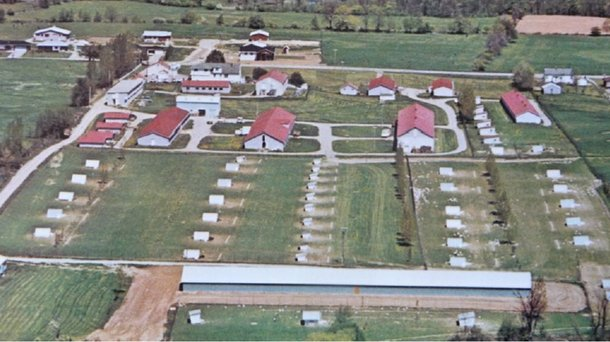whitecraigs farm shaver history layers building